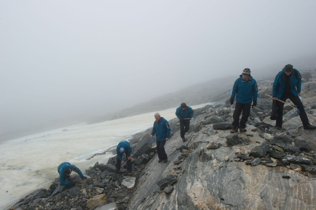 Glacial archaeologists look for objects that have been exposed by the melted ice.