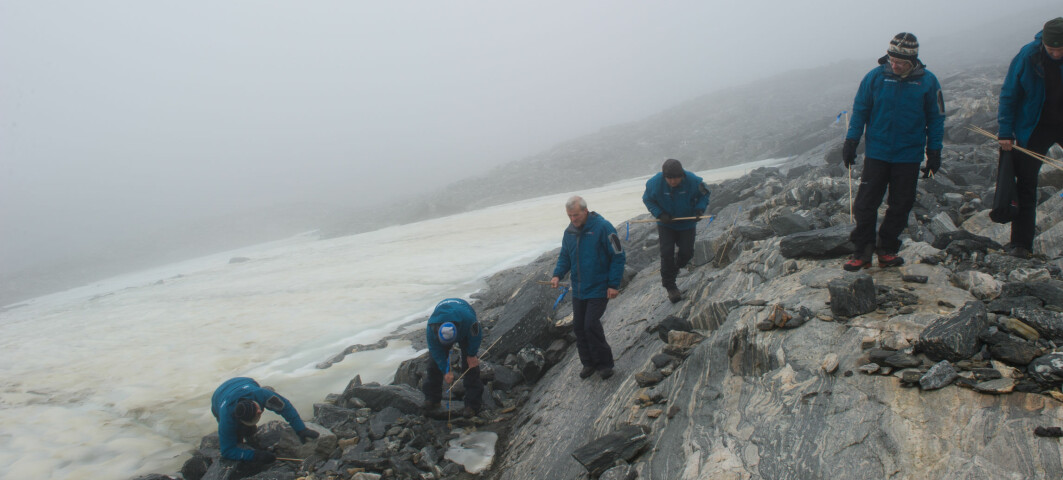 Glacial archaeology: Activity over this mountain pass was at its peak during the Viking Age