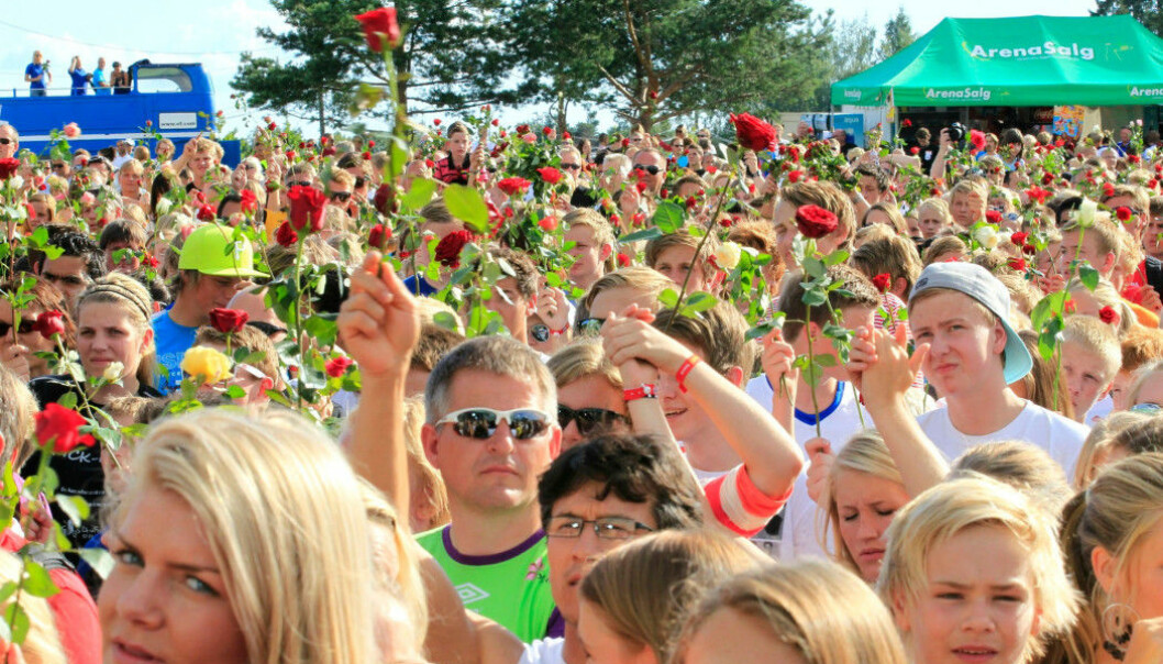 In july 2011 there were rose parades and concerts in order for people to unite and stand up against the terrorist attack in Oslo and on Utøya.