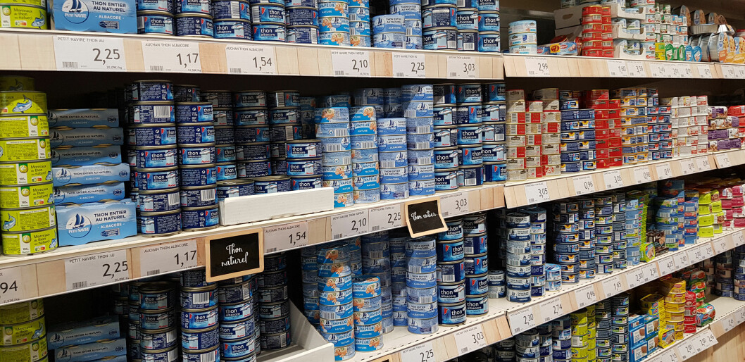 A wide selection of canned tuna in the supermarket. Are they all sustainable?