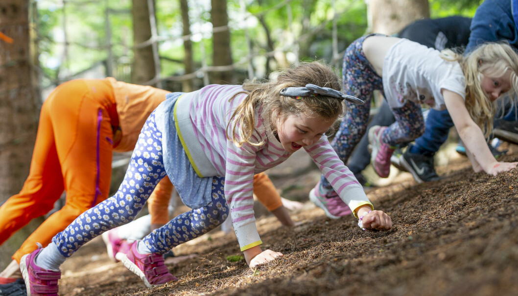 """Physical activity is fun, and it can be incorporated into practically """"everything""""."""
