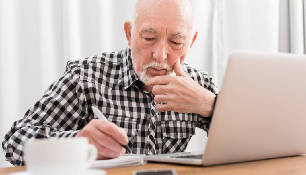 The elderly are working less than other age groups, partly because they are reaching retirement age. But more older people are working now than used to.