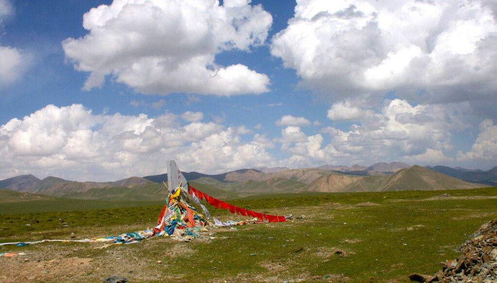 Today, the landscape east of the Tibetan Plateau is covered with grass and scrub. During the ice ages, the landscape here was more or less forested.