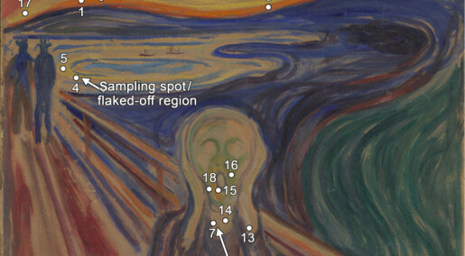 Scientists have determined what damaged Edvard Munch's