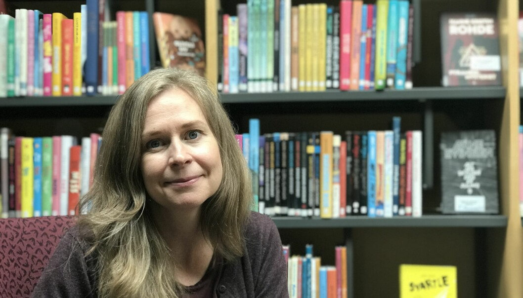 Literature can give you a sudden moment of insight and a new outlook on the world, says Linda Schade Andersen.
