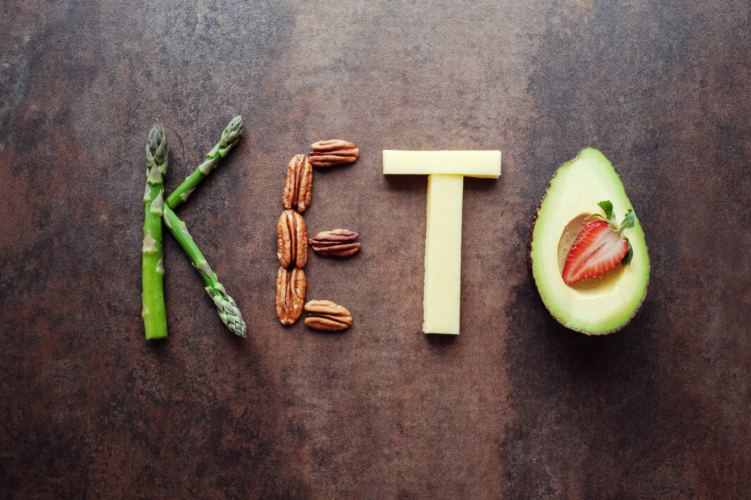 The ketogenic diet doesn't allow dieters to eat much food with a lot of starch and sugar, such as bread, potatoes, rice and sweets.