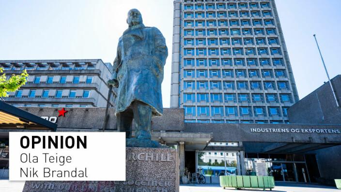 Should Norwegians tear down their Churchill-statue?