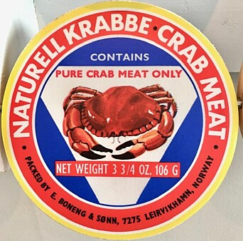Canned crab from the region was exported around the world.