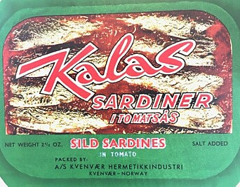 Sardines from Hitra. Norwegian canneries lost a lawsuit from France, which meant they lost the ability to call sardines sardines.