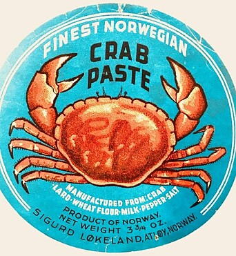 Crab paste from Mausundvær in Frøya.