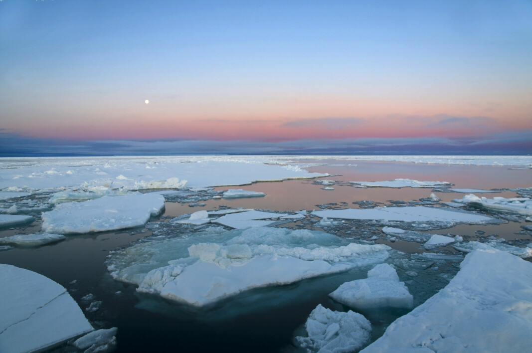 Large regions of open water in the Arctic have contributed to the steepest temperature increase since the end of the ice age.
