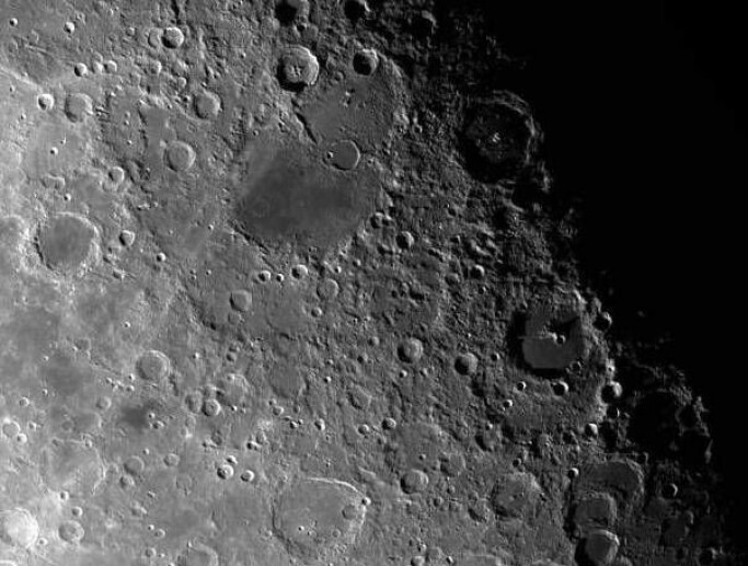 The Moon is pockmarked with meteorite craters, easily seen with a telescope on a clear night. The Earth has definitely been hit by even more, large meteorites than the Moon. The difference is that human activity, wind, water, plate tectonics and volcanic eruptions over hundreds of millions of years have erased many of the craters. Such processes have been scarce on the Moon, so it has kept its craters.