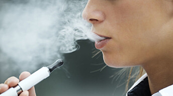 Cardiologists sound the alarm about e-cigarettes