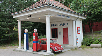 When Norwegian petrol stations looked like Greek temples