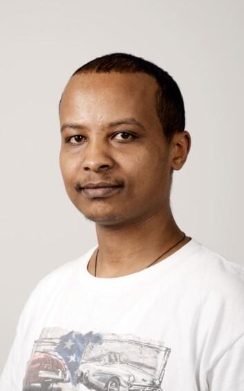 Researcher Kassaye Yitbarek Yigzaw.