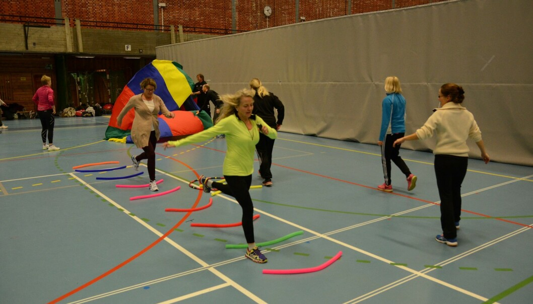 Training for PE teachers must be organised so that the classes are suited to all individuals in the future, including those who are least active in sports outside of school. From a course for PE teachers at the NIH.
