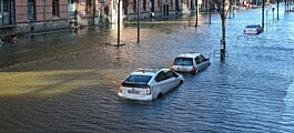 Historic amount of flooding in Europe during the last 30 years
