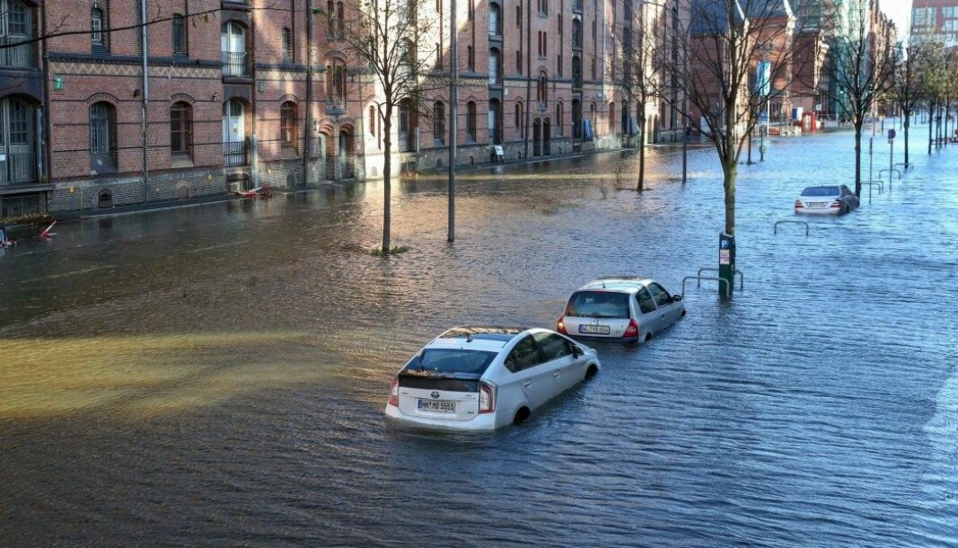 Recent years have been marked by a great deal of flooding in Central Europe. The streets of Hamburg, Germany were flooded in October 2017.
