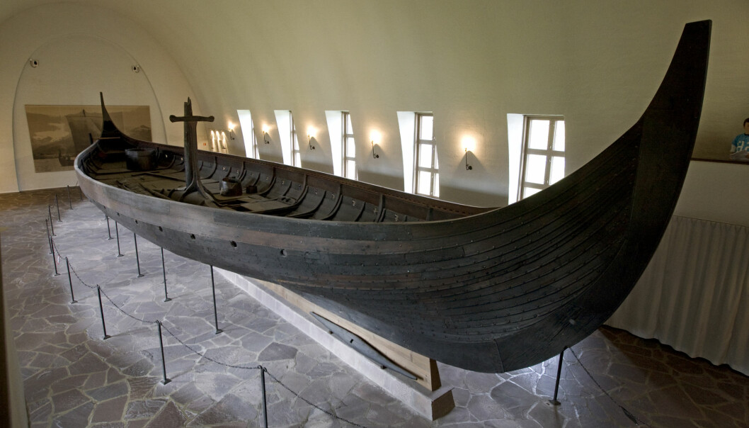 The Gokstad ship as it is displayed today at the Viking Ship Museum in Oslo. A new museum for the Viking ships in Oslo is expected to be ready by 2025.