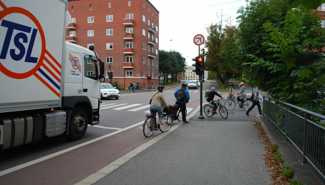 A new study finds that there is a lot of fear and frustration among road users in Norway.