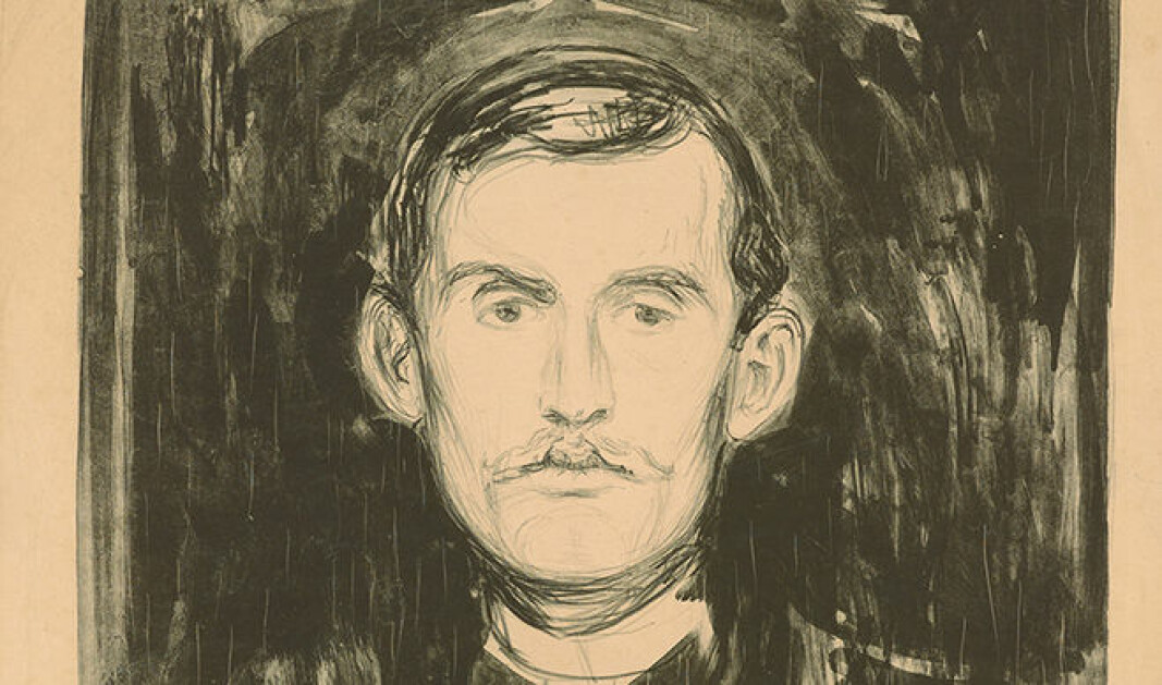 """Munch was certainly aware that he was developing myths about himself,"" says Lars Toft-Eriksen."