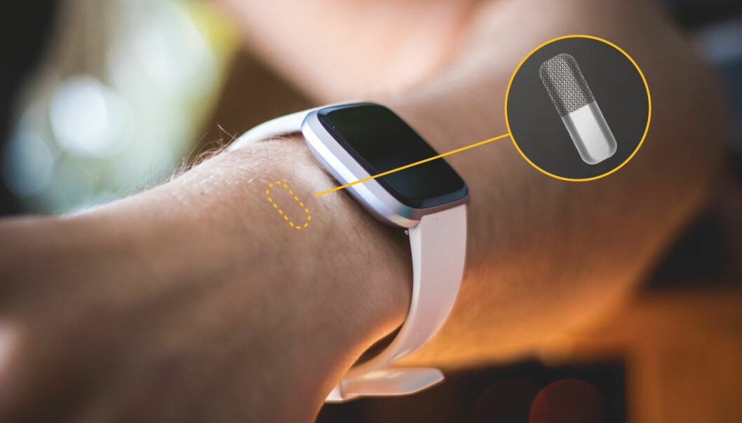 The miniature sensor will be injected into the skin of patients with diabetes type 1. Once in place, it will measure the levels of insulin. This information can then be sent to a smart watch or a phone.