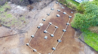 Remains of what may be a temple where Norse gods were worshiped have been found in Norway