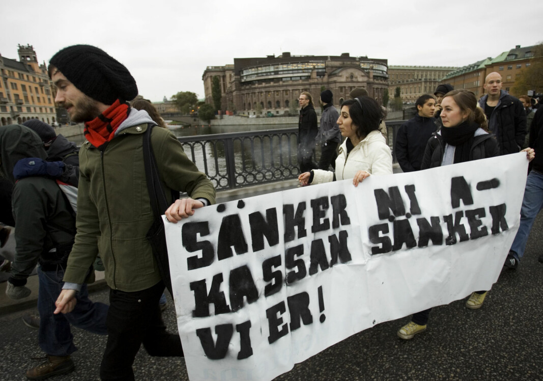 The Swedish Syndikalisterna (Central organisation of the Workers of Sweden) and the Revolutionary Front are among the groups on the far left that Swedish authorities believe society should be on guard against. But research shows that branding them as violent could lead to further radicalization. The same probably applies to the far right, says one researcher.