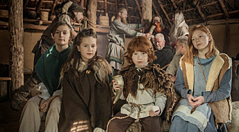 Viking children practiced with swords and quickly grew up to become adults