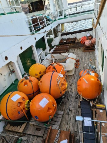 What do you do with these orange buoyancy balls?