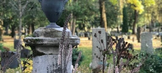Why are the ashes of one of Norway's most important scientists in an unmarked grave?