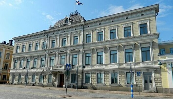 The Supreme Court of Finland in downtown Helsinki.