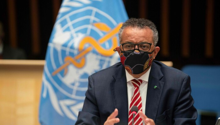 """Instead of each country deciding on its own control strategy, the WHO should decide how this should be done,"" the researchers say. Pictured here is the WHO Director General Tedros Adhanom Ghebreyesus."