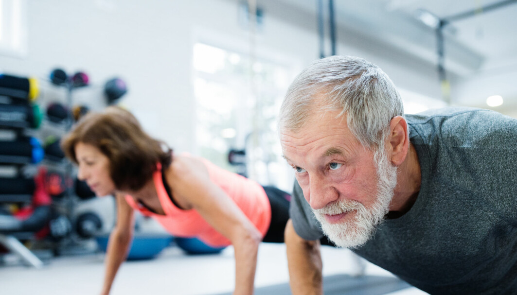 Many of the 70-year olds who were supposed to train the least, ended up training even more than the group assigned a moderate exercise regime. This made it difficult for the researchers to interpret the results.