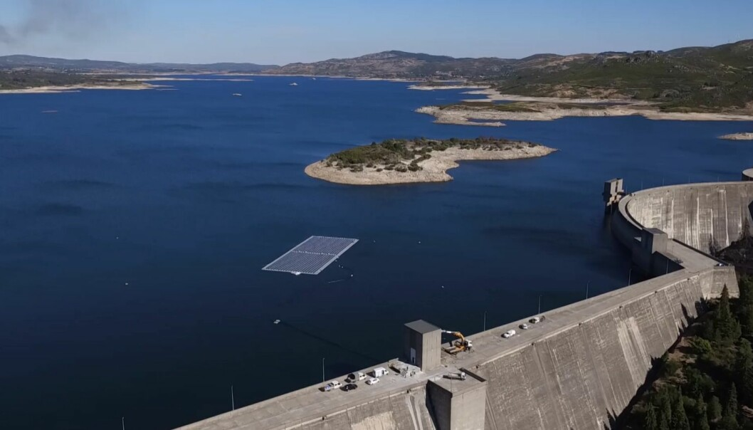 EDP's pilot project on Alto Rabagão reservoir, Portugal.