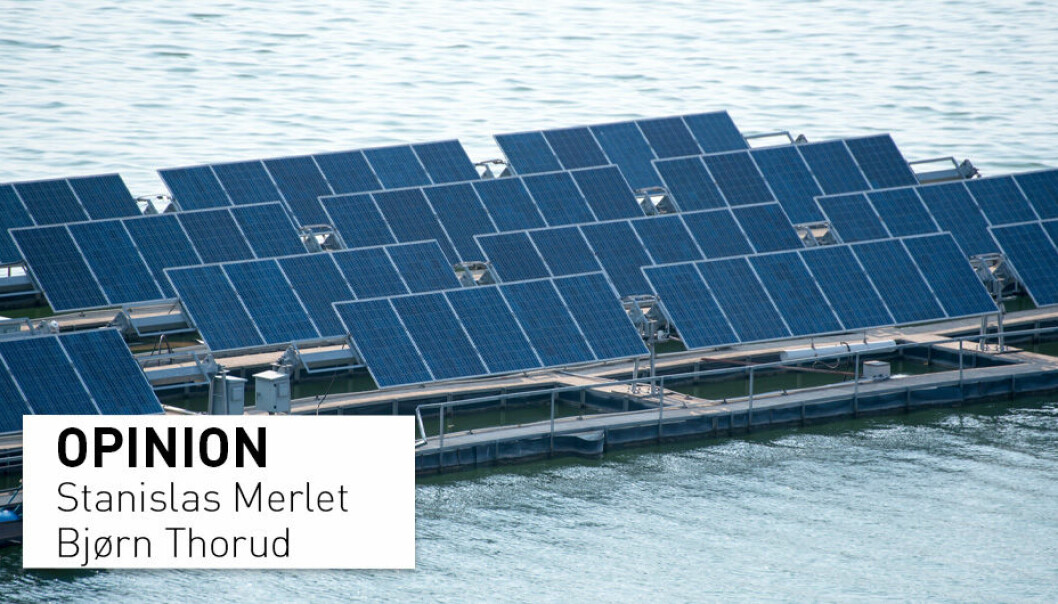 """""""Are hydro-connected floating solar power plants part of the answer to both the integration of more variable renewable energy and the modernization of old renewable assets? Most probably"""", according to Stanislas Merlet and Bjørn Thorud."""