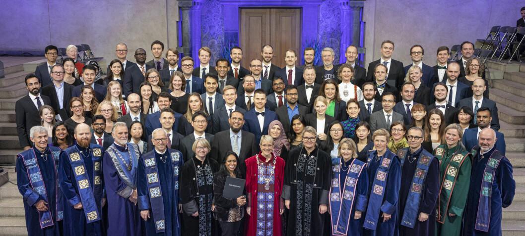 Huge increase in international students doing their PhD in Norway