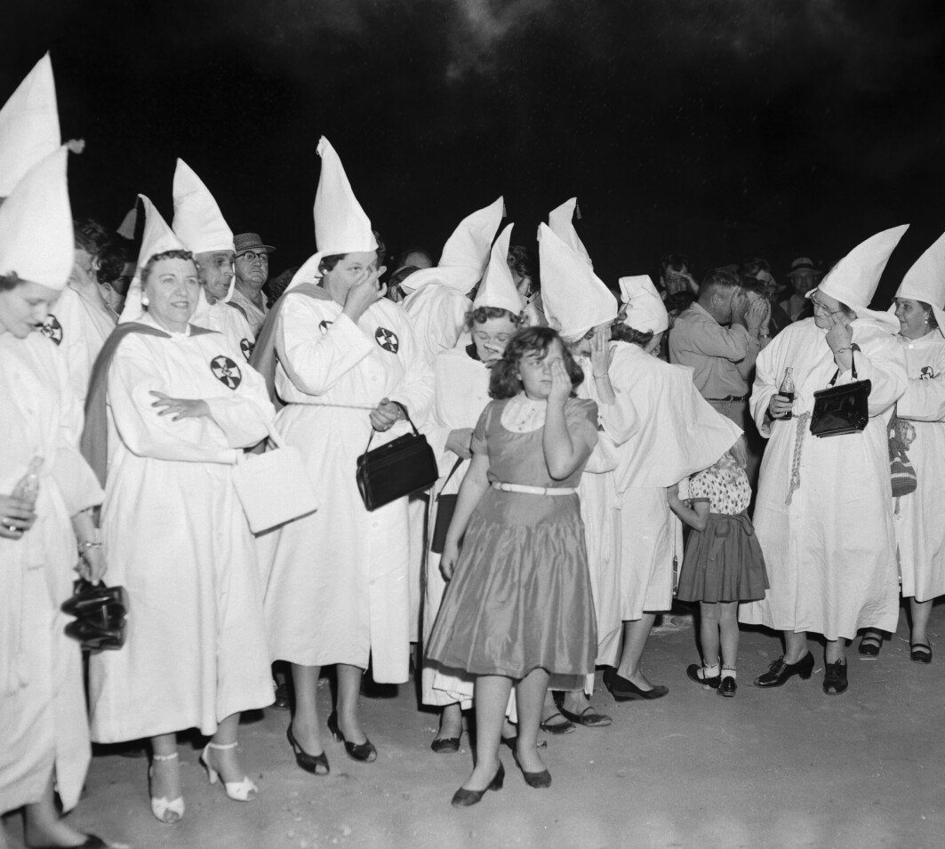 Women members of Ku Klux Klan in the 1920s