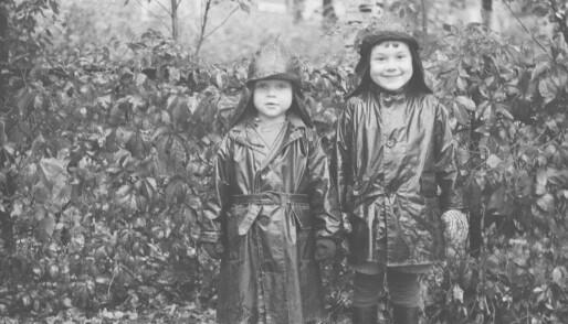 Kindergartens in the olden days