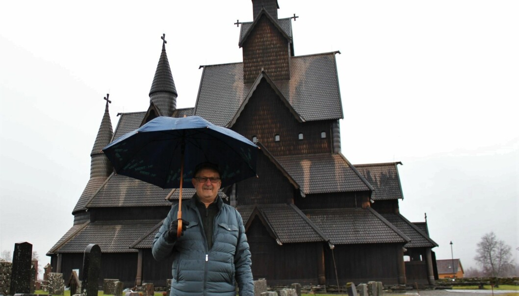 Ole H. Holta remembers the renovation of Heddal Stave Church in the 1950s, when the building was dismantled and reconstructed.
