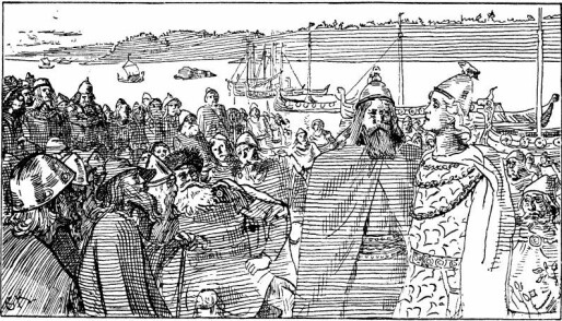 Viking women played an important role in raids