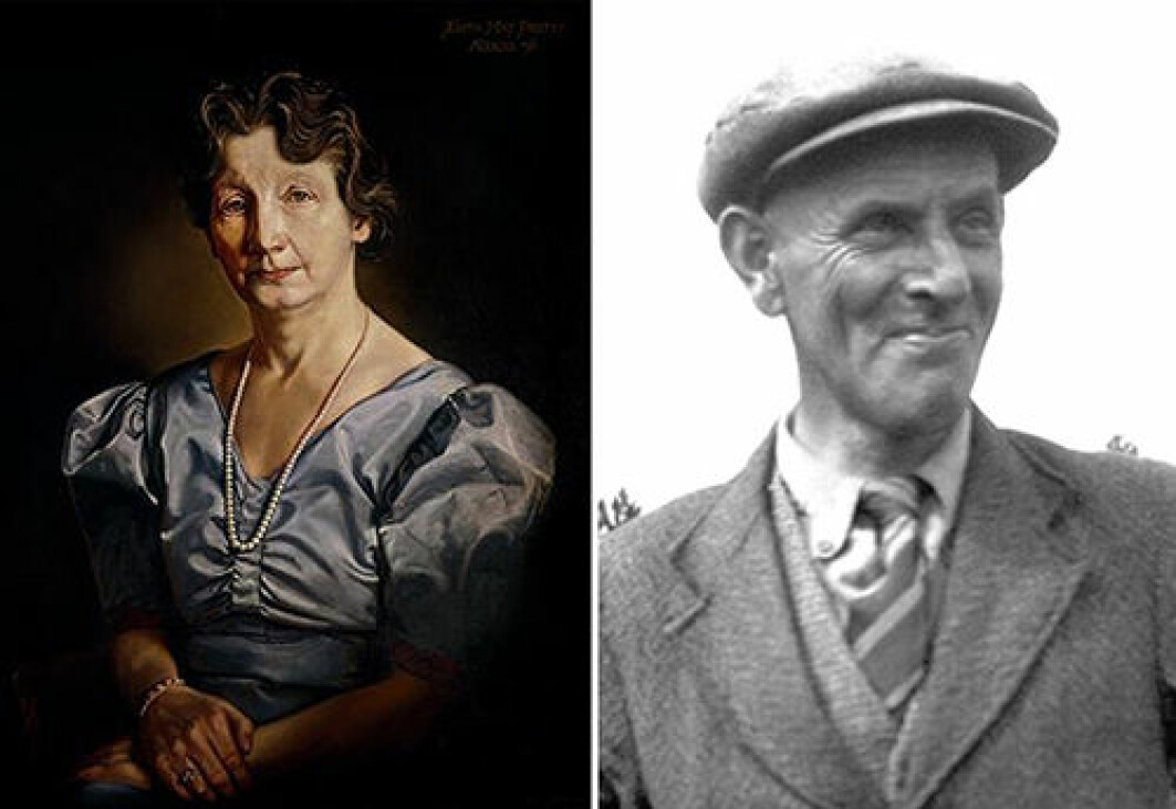 """The main characters in the real story — and in the film — are archaeology enthusiasts Edith Pretty and Basil Brown, who called themselves """"diggers""""."""
