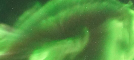 Svalbard's special northern lights