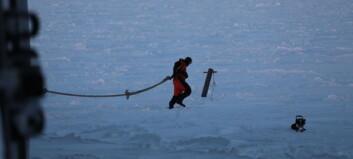 Split on a diverging ice floe