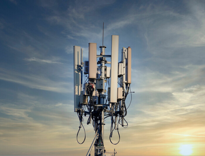 An example of a larger base station that will be needed for 5G.