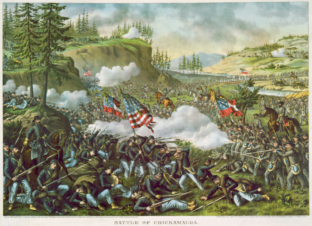 The American Civil War characterized the society that the Norwegians encountered in the 19th century. The Battle of Chickamauga, Georgia in 1863 was one of the bloodiest in the war. The battle lasted for several days and the Norwegian colonel Hans Christian Heg died during the violent battle.