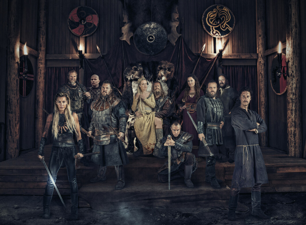 """We have never had such qualified people making TV, we have never spent so much money making TV-dramas, and Norwegian TV has never been more popular abroad"", says one researcher. One example is the NRK and Netflix Viking comedy Norsemen."