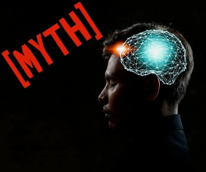 The idea that we only use 10 percent of our brain is a myth
