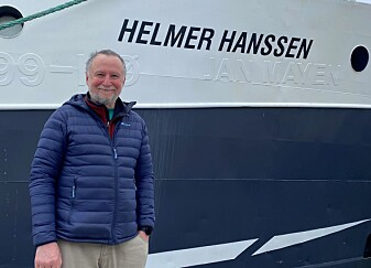 Rolf Gradinger, UiT, is ready to lead the expedition.