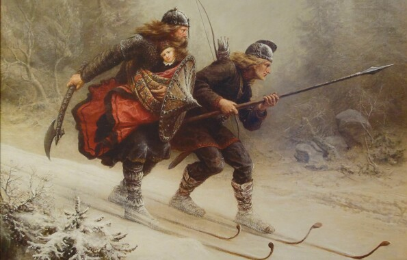 Cross-country skiing and rifle shooting. Biathlon is Norway's secret martial art